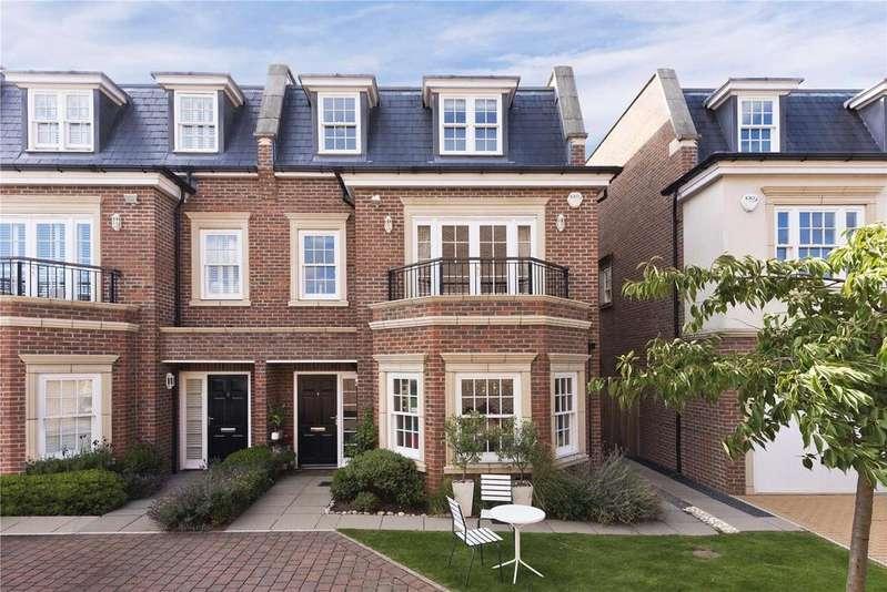 4 Bedrooms Semi Detached House for sale in Lincoln Grove, Weybridge, Surrey, KT13