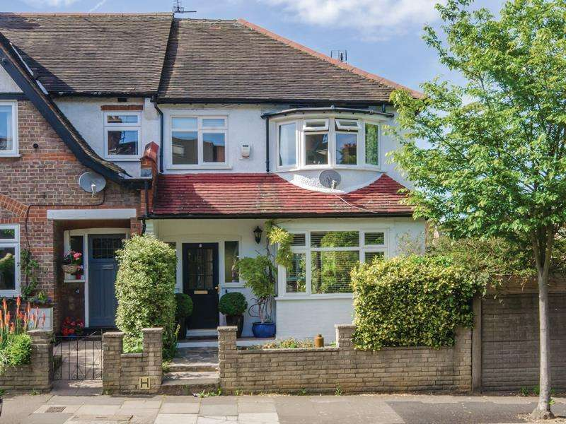 3 Bedrooms Semi Detached House for sale in Sylvester Road, N2
