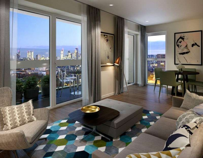 1 Bedroom Flat for sale in XY Apartments, York Way, Kings Cross, London, NW1