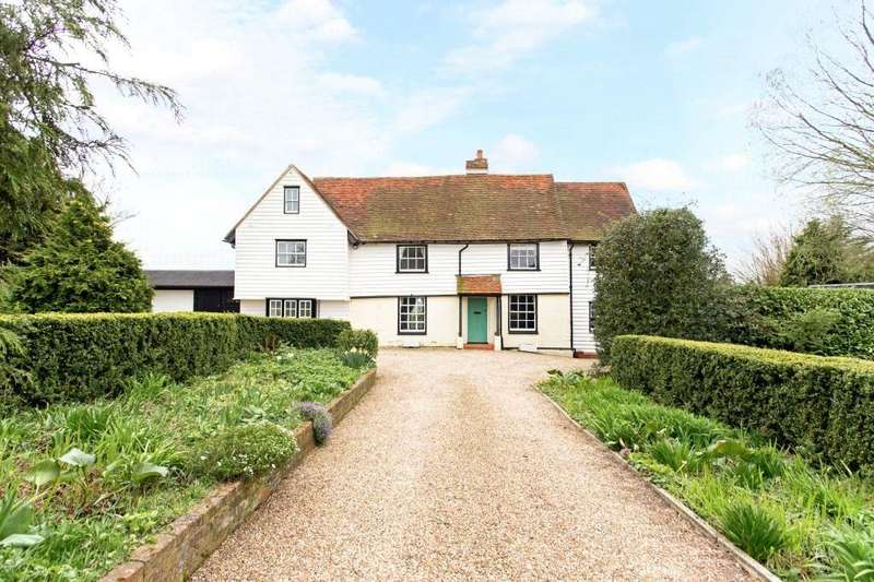 4 Bedrooms Detached House for sale in Webbs Cottage, Rye Hill Road, Epping Upland, Essex, CM18