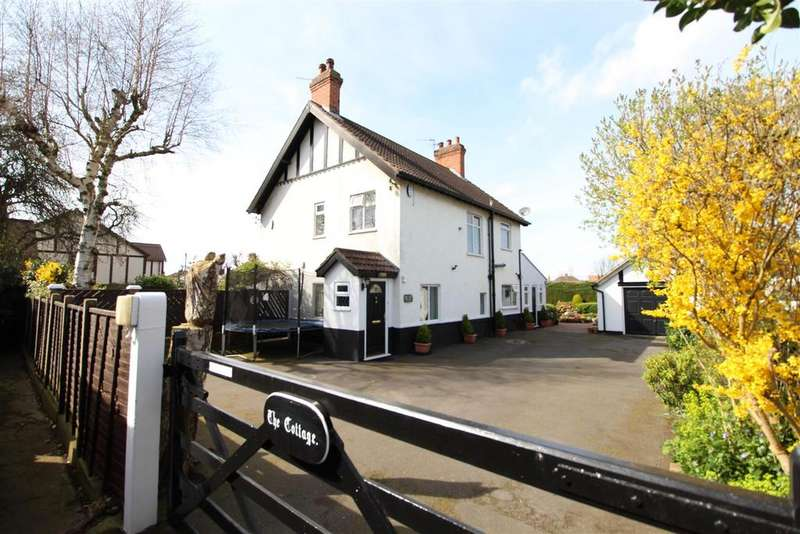 3 Bedrooms Detached House for sale in The Cottage, Littlefield Lane, Grimsby