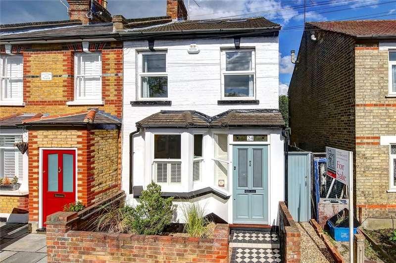 4 Bedrooms End Of Terrace House for sale in Railway Road, Teddington, TW11