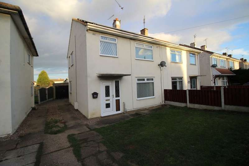 3 Bedrooms Semi Detached House for sale in Chatsworth Crescent, Scawthorpe, Doncaster, DN5