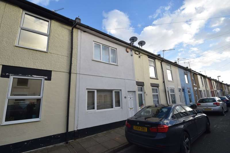 2 Bedrooms Terraced House for sale in Moorland Road, Portsmouth, PO1