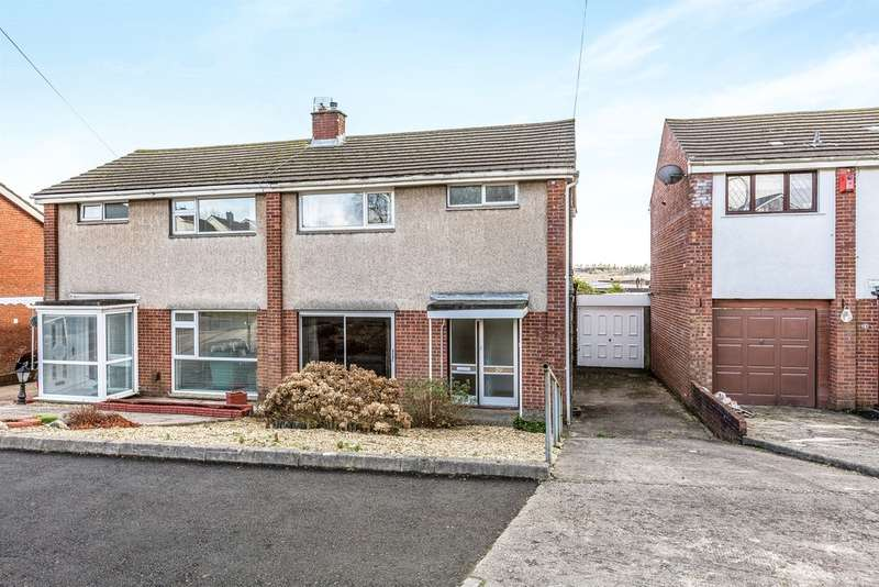 3 Bedrooms Semi Detached House for sale in Maes Y Rhedyn, Talbot Green, Pontyclun