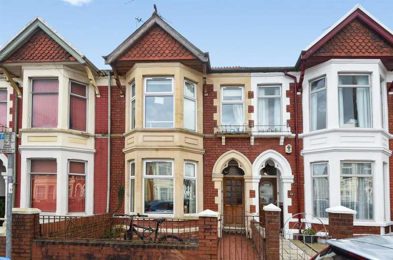 4 Bedrooms Terraced House for sale in Cardiff