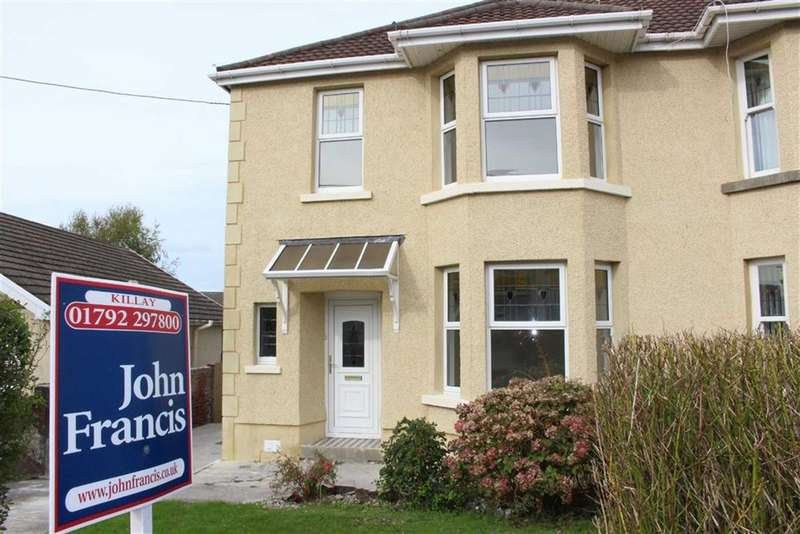 3 Bedrooms Semi Detached House for sale in Cecil Road, Gowerton