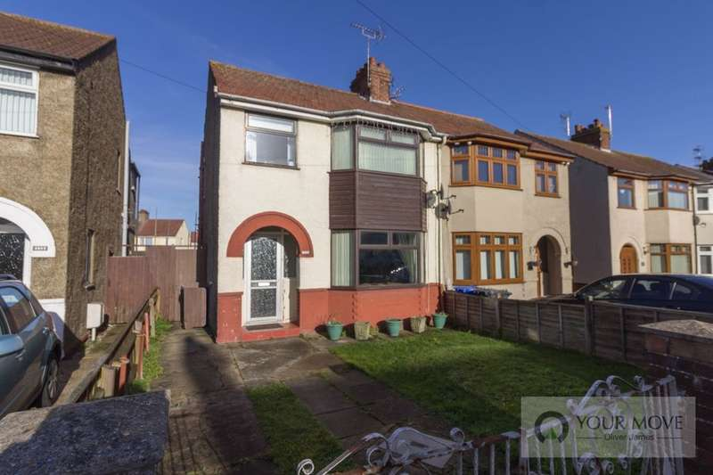 3 Bedrooms Semi Detached House for sale in Kimberley Road, Lowestoft, NR33