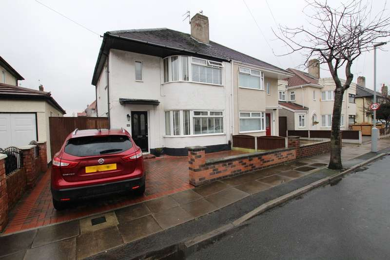 3 Bedrooms Semi Detached House for sale in Tudor Road, Liverpool, L23