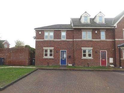 3 Bedrooms End Of Terrace House for sale in Westbridge Mews, Paddington, Warrington, Cheshire
