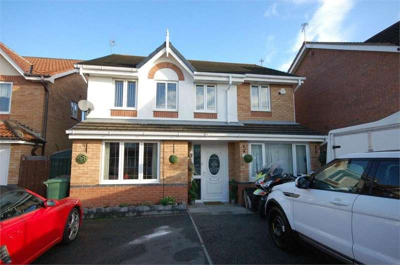 4 Bedrooms Detached House for sale in Petunia Close, New Bold, ST HELENS, Merseyside