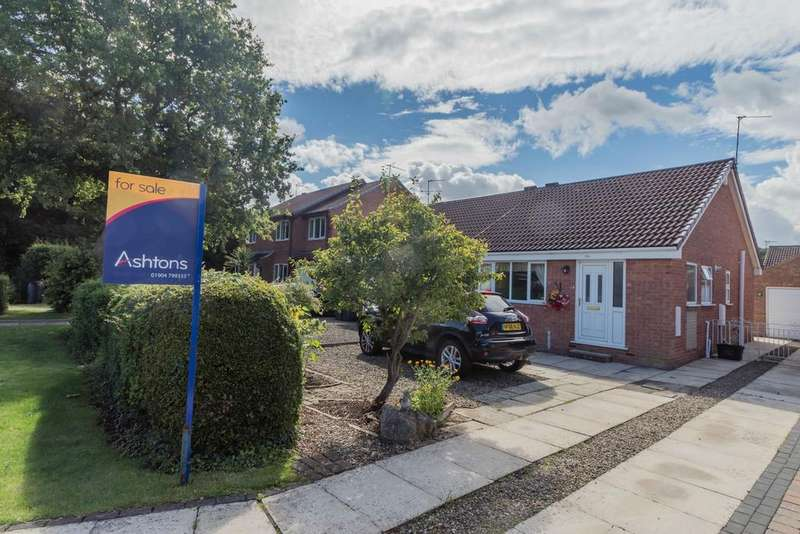 2 Bedrooms Semi Detached Bungalow for sale in Osprey Close, Acomb Wood, YORK