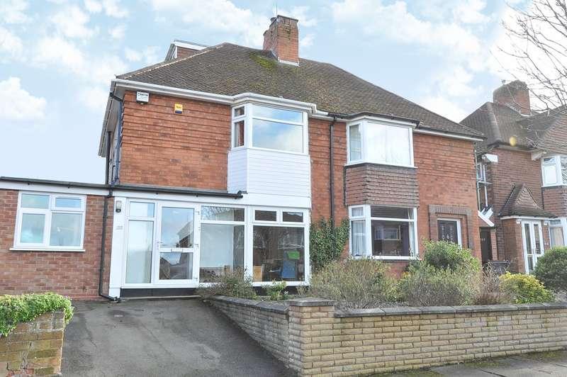 4 Bedrooms Semi Detached House for sale in Newlands Road, Birmingham, B30