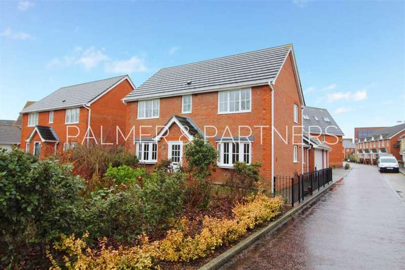 4 Bedrooms Detached House for sale in Lucius Crescent, Myland, Colchester