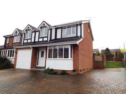 4 Bedrooms Detached House for sale in Longcroft Close, New Tupton, Chesterfield, Derbyshire