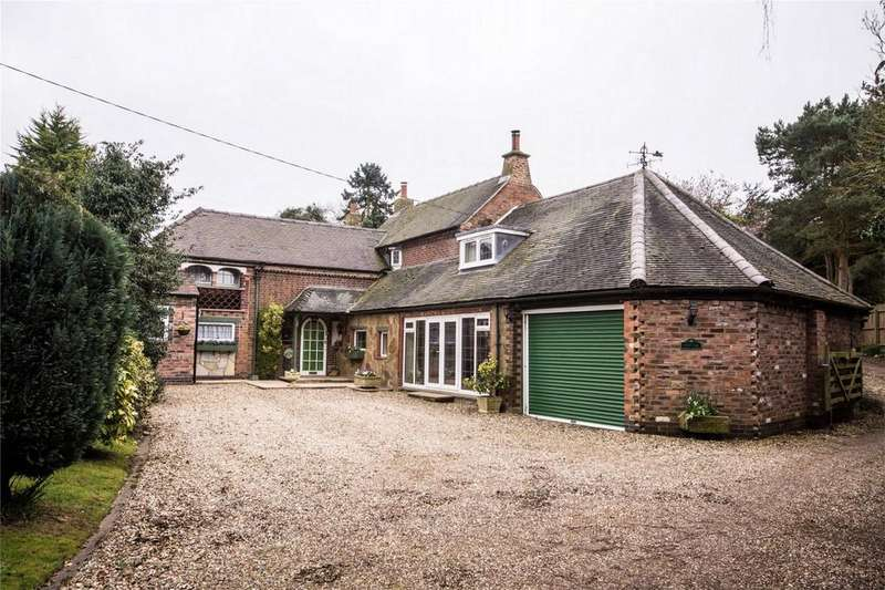 3 Bedrooms Detached House for sale in Croxall Road, Edingale, Tamworth, Staffordshire