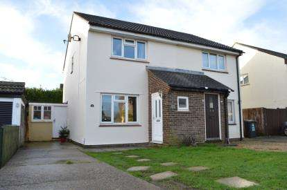 2 Bedrooms Semi Detached House for sale in Throop, Bournemouth, Dorset