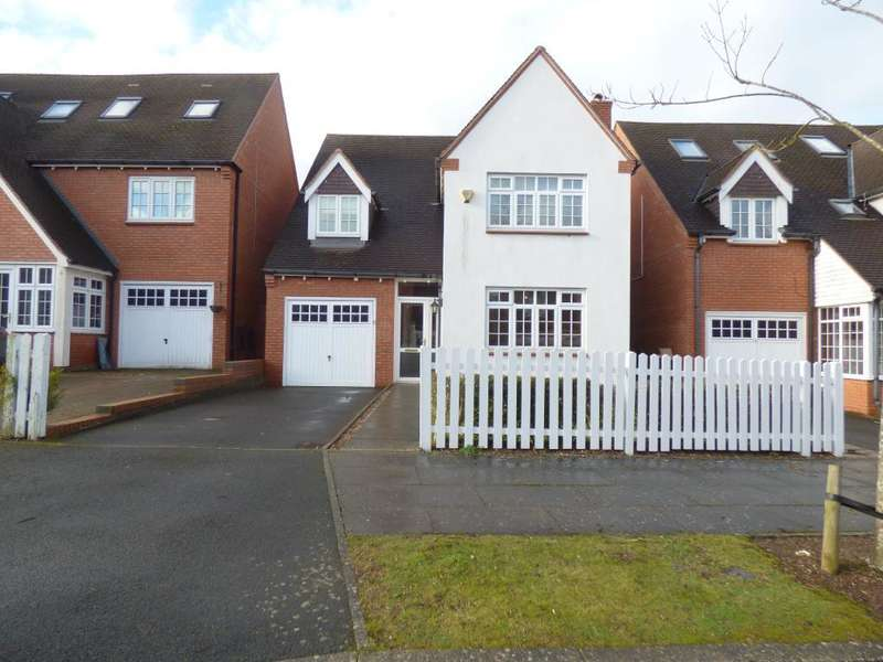 4 Bedrooms Detached House for sale in Belmont Crescent, Bournville Park, Birmingham, B31 2FH