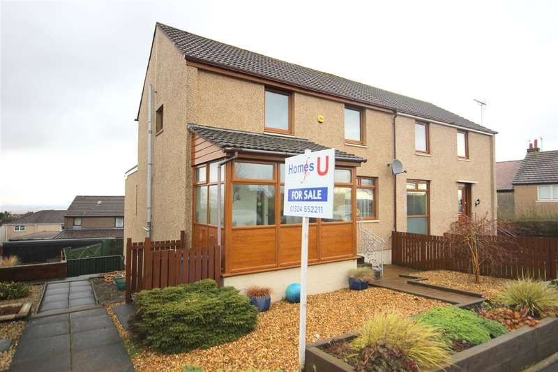 4 Bedrooms Semi Detached House for sale in California Road, Maddiston