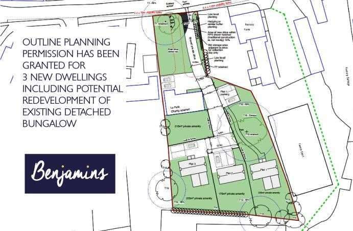 Land Commercial for sale in Le Petit Champ, Widmerpool Road, Wysall, Nottingham