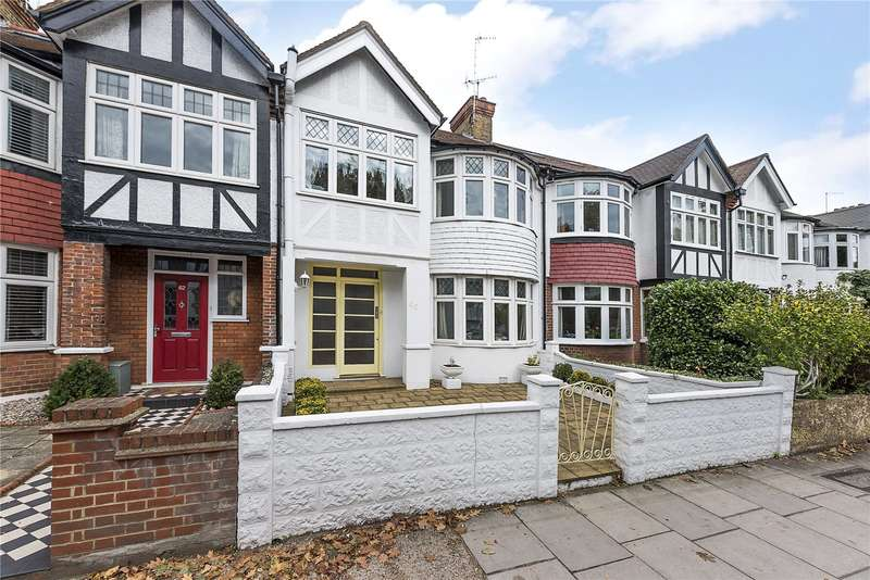 3 Bedrooms Terraced House for sale in St Margarets Road, St Margarets, TW1