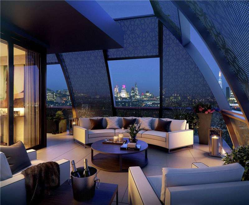 3 Bedrooms Flat for sale in 190 Strand, London, WC2R