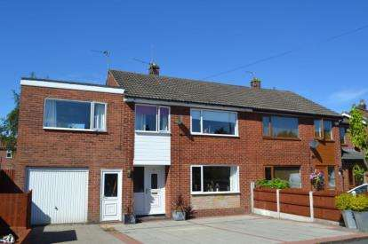 4 Bedrooms Semi Detached House for sale in Pineway, Fulwood, Preston, Lancashire, PR2