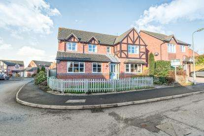 5 Bedrooms Detached House for sale in Perch Road, Broomhall, Worcester, Worcestershire