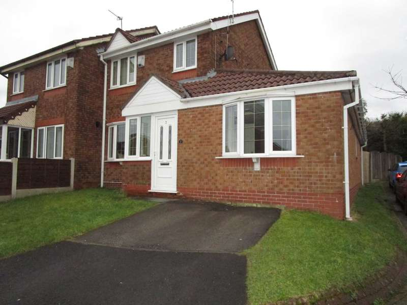 4 Bedrooms Semi Detached House for sale in Brierwood Close, Royton