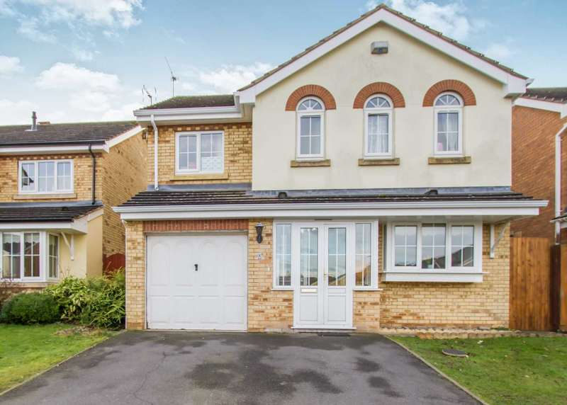 4 Bedrooms Detached House for sale in Smore Slade Hills, Oadby, Leicester
