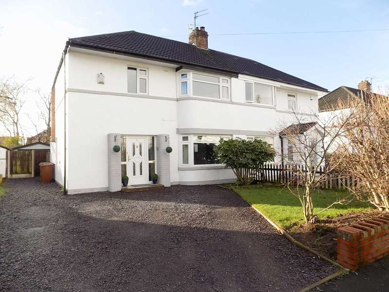3 Bedrooms Semi Detached House for sale in CENTRAL DRIVE, Bramhall