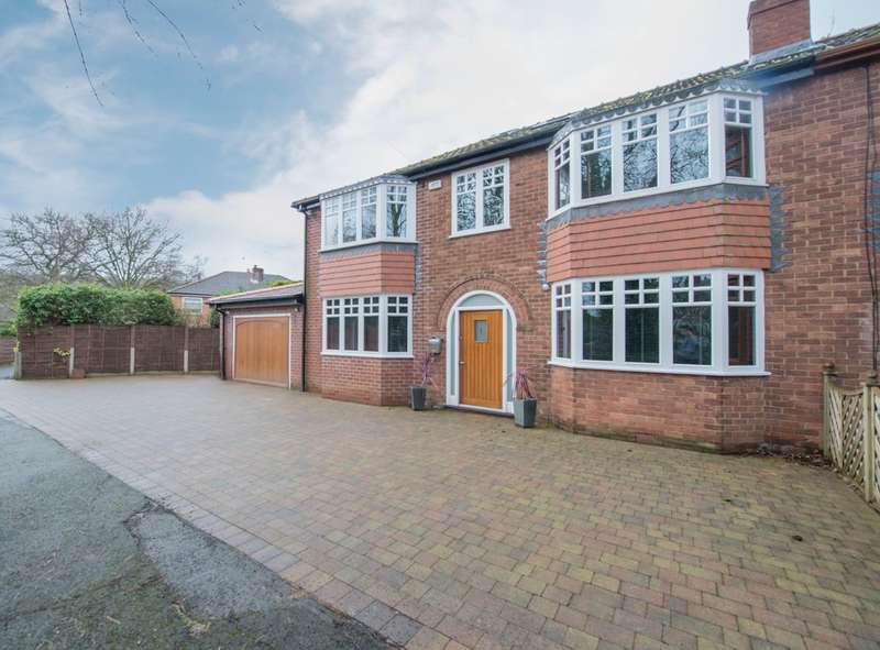 4 Bedrooms Semi Detached House for sale in The Nook, Worsley, Manchester, M28