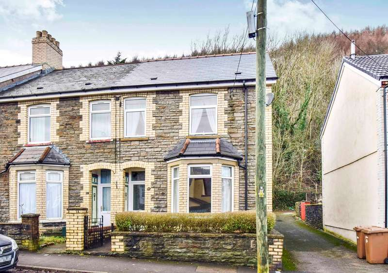 3 Bedrooms End Of Terrace House for sale in Tyn Y Graig Road, Llanbradach, Caerphilly, CF83