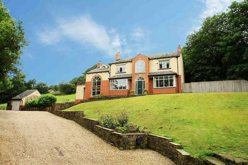 4 Bedrooms Detached House for sale in Moorgate Street, Uppermill, Saddleworth