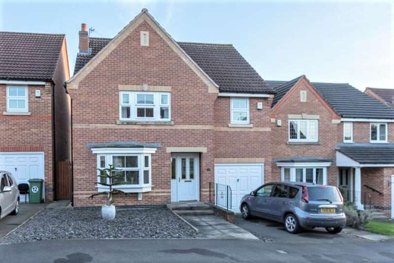 4 Bedrooms Detached House for sale in Bendigo Close, Lincoln, Lincolnshire, LN1