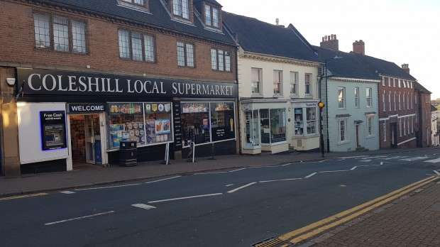 Shop Commercial for sale in High Street, Coleshill, Birmingham, B46