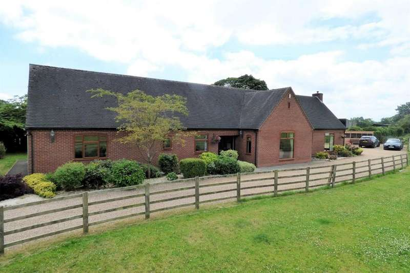 4 Bedrooms Detached Bungalow for sale in Church Broughton Road, Foston