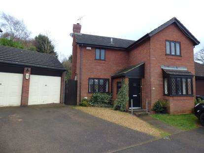 4 Bedrooms Detached House for sale in Gresham Drive, West Hunsbury, Northampton, Northamptonshire