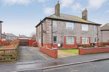 2 Bedrooms Flat for sale in Glebe Crescent, Ayr