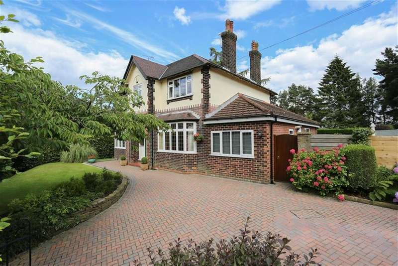 4 Bedrooms Detached House for sale in Compstall Road, Romiley, Cheshire