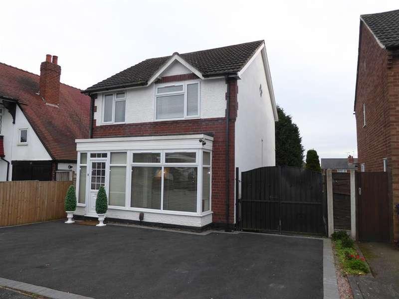 3 Bedrooms Detached House for sale in Aubrey Road, Harborne, Birmingham, B32 2BB