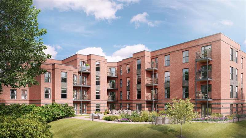 2 Bedrooms Retirement Property for sale in Ryland Place, Norfolk Road, Edgbaston, Birmingham, B15 3PU