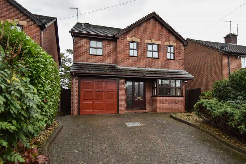 4 Bedrooms Detached House for sale in Old Station Road, Bromsgrove, Worcestershire, B60