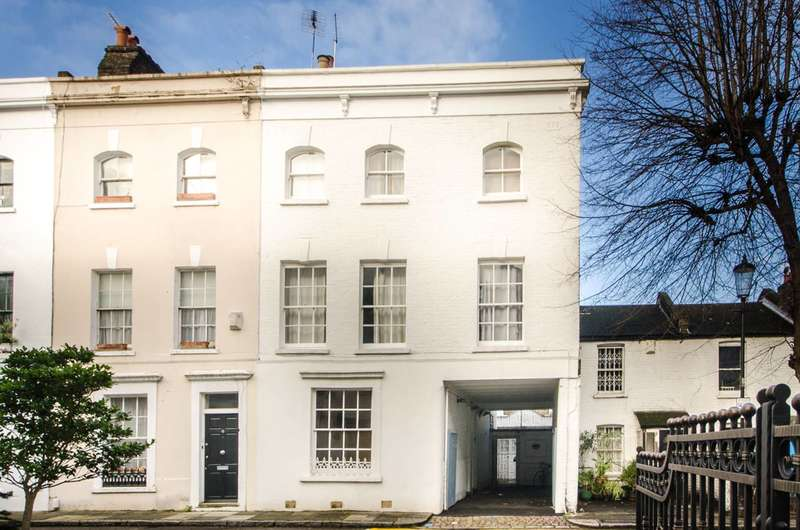 1 Bedroom Maisonette Flat for sale in Childs Place, Earls Court, SW5
