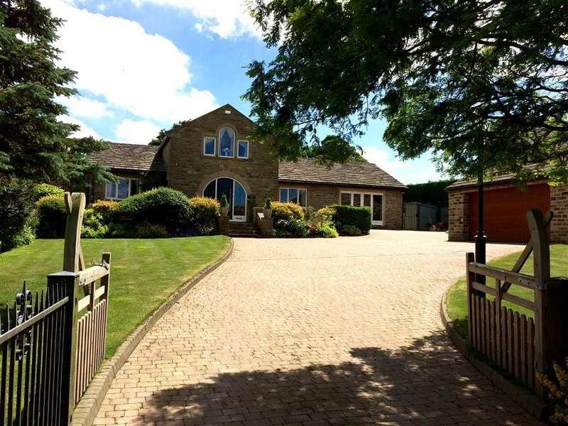 4 Bedrooms Detached House for sale in Bank Lane, Upper Denby, Huddersfield, HD8