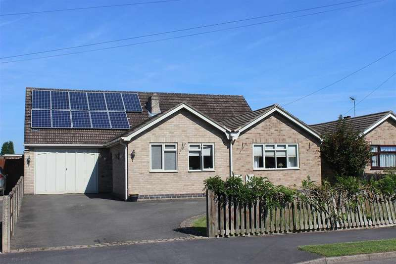 5 Bedrooms Detached Bungalow for sale in Byron Crescent, Measham, Swadlincote
