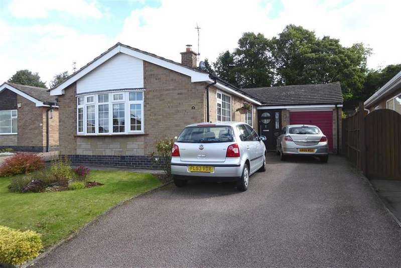 2 Bedrooms Detached Bungalow for sale in Hereward Drive, Thurnby