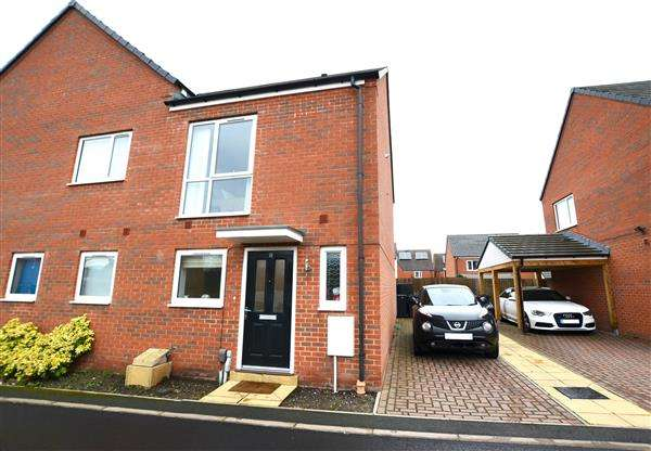 2 Bedrooms Semi Detached House for sale in Centurion Crescent, Newcastle, Newcastle