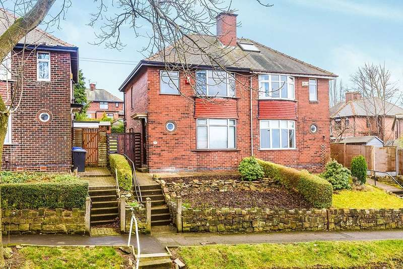 3 Bedrooms Semi Detached House for sale in Lees Hall Avenue, Sheffield, S8