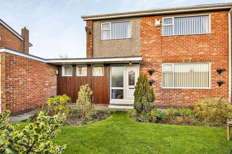 2 Bedrooms Semi Detached House for sale in Aberfoyle, Ouston, CHESTER LE STREET, DH2